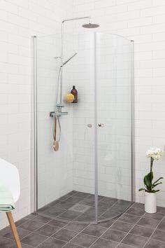 Lusso duschhörna svängd | Alterna badrum
