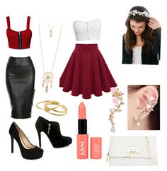 A fashion look from July 2015 featuring bralet crop top, shirt top and red high waisted skirt. Browse and shop related looks. Greek God Costume, Red High Waisted Skirt, Camp Jupiter, Greek Gods, Aphrodite, Percy Jackson, Fashion Looks, Daughter, Lost