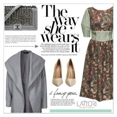 """""""LATTORI dress"""" by water-polo ❤ liked on Polyvore featuring ONLY, Lattori, Kurt Geiger, Chanel, polyvoreeditorial and lattori"""