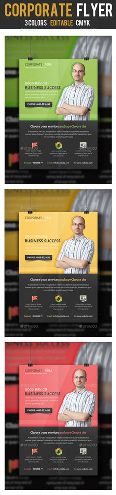 Business Consulting Flyer Template PSD