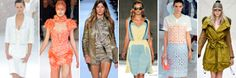 Check out the latest from Fashion week- Style.com has all the images. Wes Gordon is my fave!