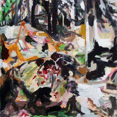 Scrabble Hill, 2010, by Allison Gildersleeve
