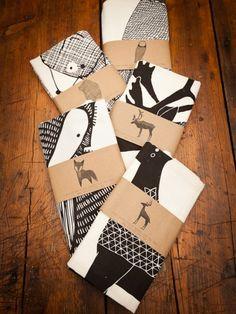 Animal Tea Towels