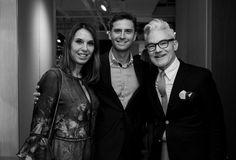 Esther Schattan, Murillo Schattan e John Eason
