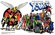 X-men Comic | ... provided this nifty wraparound cover to the X-Men Marvel Comics Index