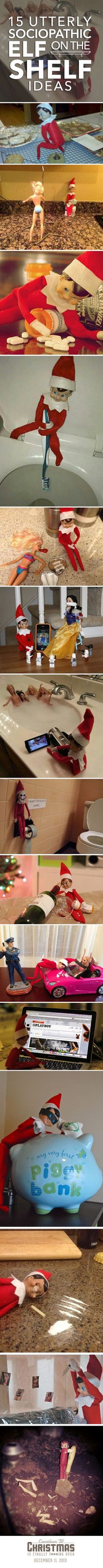Love the Dexter elf lol