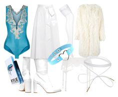 """Ava Costume"" by andyryan on Polyvore featuring La Perla, TIBI, Stuart Weitzman, GET LOST and DKNY"