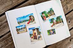 New Media, Photo Wall, Polaroid Film, Scrapbook, Design, Decor, Diving, Catalog, Colors