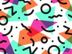 1980 pattern orange purples mint green blue shapes fun surface design graphic design illustration white black lines 90s Pattern, Pattern Art, Graphic Patterns, Print Patterns, Geometric Patterns, Design Patterns, Surface Design, 80s Design, Memphis Pattern
