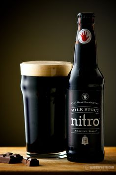 Left Hand Milk Stout Nitro...completely delicious!