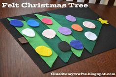 Felt Christmas Tree-Toddler Proof Christmas