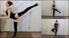 online ballet class - YouTube