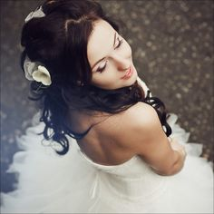 Beautiful portrait of a bride