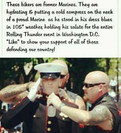 Some of the nicest people you'll meet are covered in tattoos.and the most judgemental ones sit in church every Sunday Military Quotes, Military Love, Military Humor, Usmc Quotes, Military History, Quotes Quotes, Faith In Humanity Restored, Us Marines, Thing 1