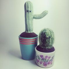 New crochet cacti for you to love...and not kill