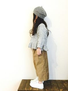 CHIIIICOさんのコーディネート Look Fashion, Girl Fashion, Kids Outfits, Cool Outfits, Men In Uniform, Kid Styles, Baby Sewing, Kids Wear, Baby Dress