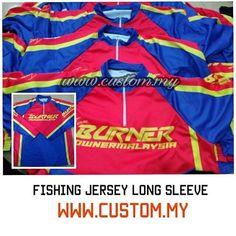 Done print Fullprint Fishing Jersey Long Sleeve! . Sesiapa yang...
