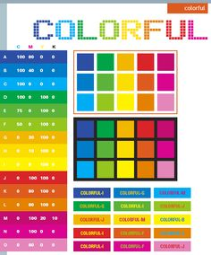 color schemes | Colorful color schemes, color combinations, color palettes for print ...