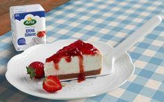 Arla - your global dairy company Cheesecakes, Desserts, Recipes, Food, Google, Tailgate Desserts, Cheese Cakes, Dessert, Rezepte