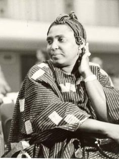 Writer and political activist Mariama Ba was born in 1929 in Dakar, Senegal .By the late 1970s she became a vocal activist for women's rights in Africa and a critic of the neocolonial system that had evolved in most of the newly independent African nations.  She  wrote about a number of feminist issues such as polygamy, mistreatment of women in Senegalese society, ostracism of the castes, the exploitation of women, violence against women, and lack of educational opportunities for girls.