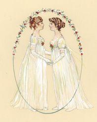 Cassandra and Jane Austen  © Jane Odiwe