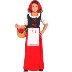 6d6cf3e83 Disfraz Posadera Rojo Infantil Navidad - Envío 24 horas ✅