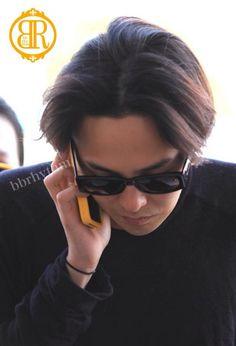 G-Dragon ♡ #BIGBANG // Gimpo Airport to Japan 140828