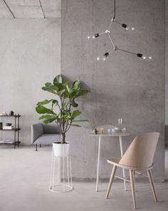 Menu keeps it light and minimal