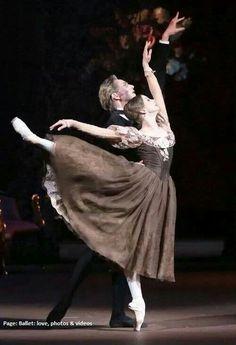 "Evgenia Obraztsova and David Hallberg in ""Onegin"" ❤❦♪♫"