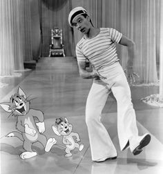 Tom, Jerry, Gene Kelly – Anchors Aweigh,1945