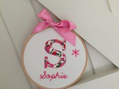 Items similar to Monogram. Ideal Gift for a New Born Baby, Christening or Birthday. Personalised and Handmade to order. on Etsy Scissors, Christening, Monogram, Birthday, Baby, Gifts, Handmade, Monogram Tote, Birthdays