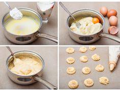 Profiterol és képviselőfánk: 7 jó tanács, hogy tökéletes legyen az égetett tészta | Mindmegette.hu Churros, Fondue, Cake Recipes, Sweets, Cheese, Homemade, Cookies, Ethnic Recipes, Point