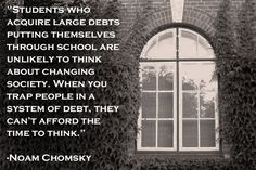 Noam Chomsky: (Photo: Creative Commons)  Something to think about and digest over time.