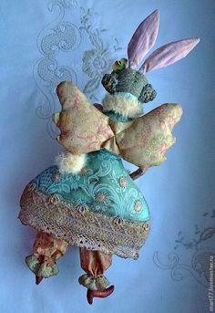 Купить Хочу Новый Год!! - кукла ручной работы, кукла, зайчиха, новогодний подарок