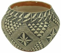 Exceptional Ácoma Pottery Jar