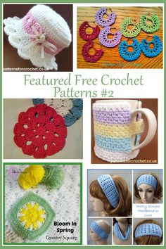 Featured FREE Crochet Patterns ~ 2 on www.crochetpatternbonanza.com