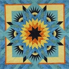 Summer Solstice ~ Quiltworx.com, made by Certified Instructor, Denise Green