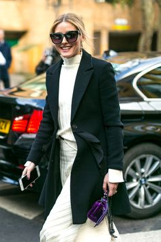 Olivia Palermo - The Best Street Style from London Fashion Week Fall 2017 - February 2017