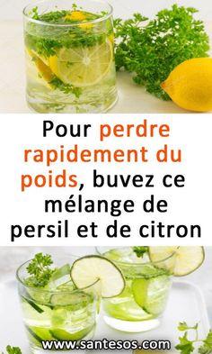 Pour perdre rapidement du poids, buvez ce mélange de persil et de citron #perdredupoids #boisson #recetterégime #persil #citron Foie Gras, Cantaloupe, Cucumber, Health Fitness, Nutrition, Weight Loss, Fruit, Food, Important