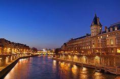 The Seine River, Paris, France