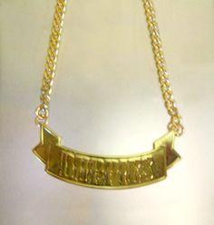 【New!! Five-O DUPPIES RIBON NECKLACE】こちらは人気のRIBONデザインのネックレスです。大きすぎず、小さすぎない程よい様々なスタイルに合うスタイルです!!カラー/シルバー、ゴールド 商品ページ→ http://coolimpact.shops.net/item?itemid=20116