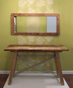 Welcome to Devon Furniture Makers Table Mirror, Console Table, David Ames, Entryway Tables, Contemporary, Frame, Crafts, Furniture, Design