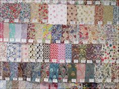 Liberty fabric swatches   Liberty Archives
