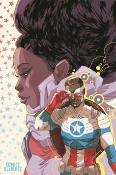Captain America And Misty Knight : All-New Captain America #5 - Marguerite Sauvage - Women of Marvel variant cover °°
