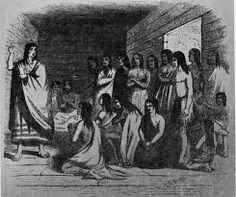 Natives at la Mission San Rafael Arcángel.