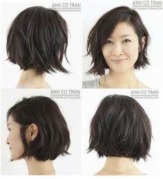 20 Layered Short Haircuts 2014 - The Hairstyler Best Picture For messy bob hairstyles For Your Taste Short Haircuts 2014, Short Layered Bob Haircuts, Short Bob Hairstyles, Hairstyles Haircuts, Layered Bobs, Popular Haircuts, Layered Bob Bangs, Curly Bob Haircuts, Neck Length Hairstyles