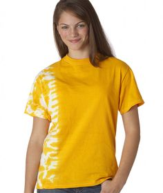 dyenomite youth tonal fusion tee - gold (s)