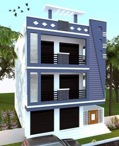 To see more visit 👇 House Arch Design, House Front Wall Design, Village House Design, Main Door Design, Bungalow House Design, Small House Design, Modern House Design, Latest House Designs, Cool House Designs