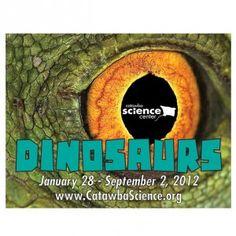 Hickory NC: Dinosaurs Invade Catawba Science Center    http://www.lifeinhickory.com/2012/01/hickory-nc-dinosaurs-invade-catawba-science-center/    http://www.catawbascience.org/temporary_exhibits.html