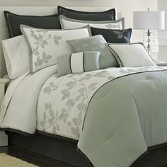 jcp home™ Anderson Leaves Comforter Set & Accessories - jcpenney